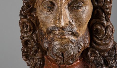 Dettaglio del Busto di Cristo