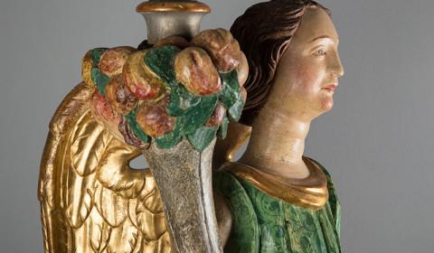 Dettaglio di Copia di Angeli porta ceri