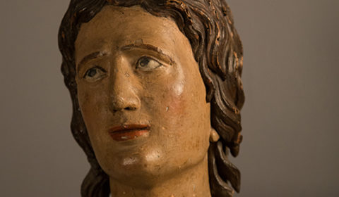 Testa di San Sebastiano