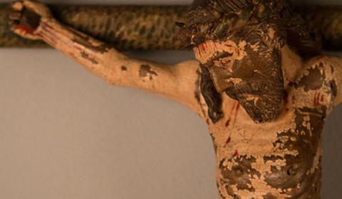 Dettaglio di Cristo in Croce