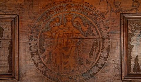 Dettaglio del Cassone rinascimentale