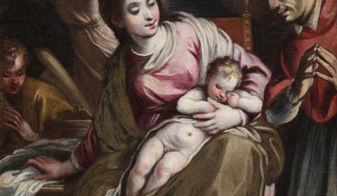 Madonna con Bambino e San Carlo Borromeo