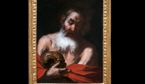 San Girolamo con cornice
