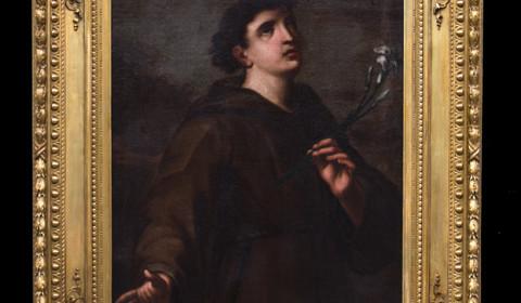 Sant'Antonio con cornice