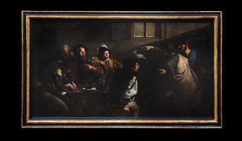 Vocazione di San Matteo con cornice
